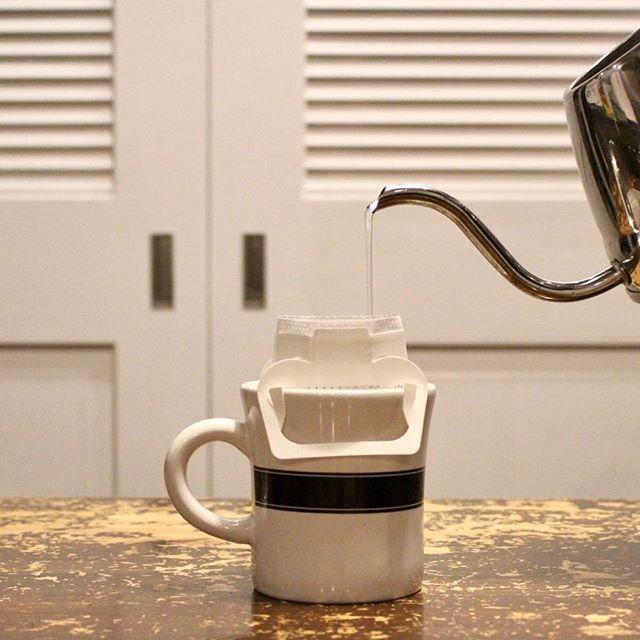 20180115コロンビアの中煎り飲みやすいコーヒー (Instagram)