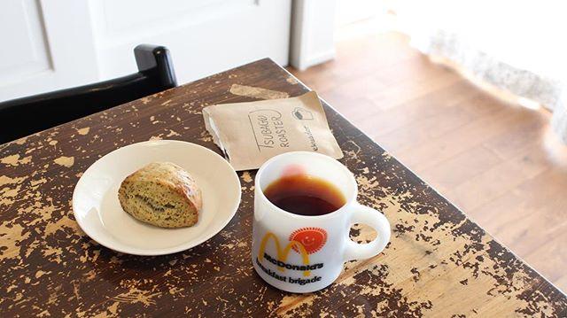 20180326good morningスコーンとコーヒー!#キニョン#国立#国分寺#tsubagoroaster #ツバゴロースター#ドリップバッグ (Instagram)