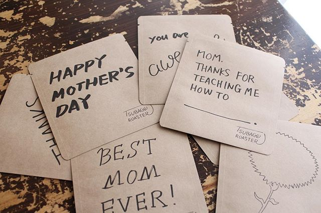 20180418母の日パッケージのドリップバッグ販売中ですお母さんと一緒にコーヒー飲みましょう♪ (Instagram)