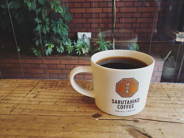 20180611猿田彦珈琲本店初めて来たよ酸味のあるものをと聞いてペルーのコーヒーツバゴロースターはコーヒー屋さん巡るのも好きです (Instagram)